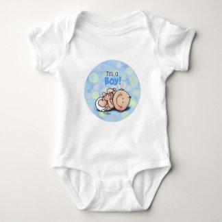 Soy un muchacho - nuevo bebé camisetas