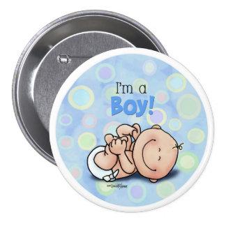 Soy un MUCHACHO - nuevo bebé Pin