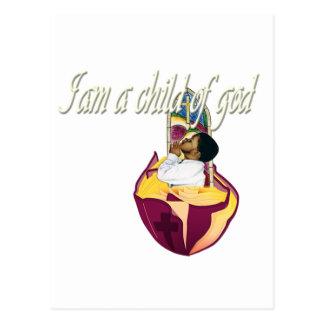 Soy un niño de dios postal