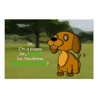 Soy un perrito poster