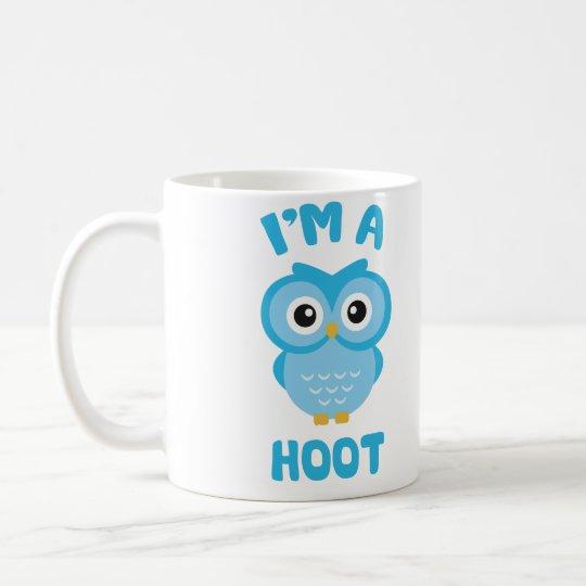 Soy un pitido (el retruécano lindo del búho) taza de café