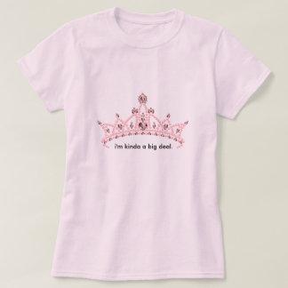 """""""Soy un poco camiseta de la tiara del diamante"""