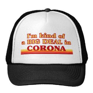 Soy un poco una GRAN COSA en corona Gorro De Camionero