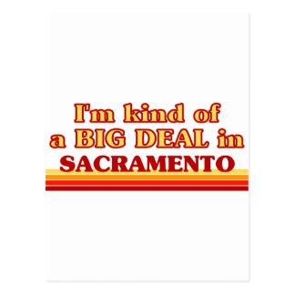 Soy un poco una GRAN COSA en Sacramento Postal