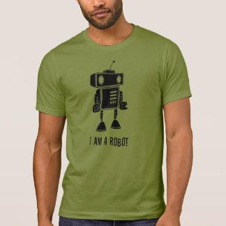 Soy un robot camiseta