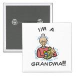 Soy una Abuela-Abuela y un bebé Pins