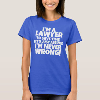 Soy una camisa de las mujeres del abogado