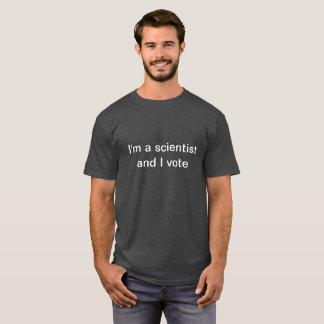 Soy una camiseta del científico