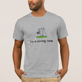 Soy una camiseta del votante de oscilación