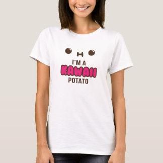 Soy una camiseta suave de la patata de Kawaii