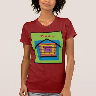 Soy una casa del ladrillo camiseta