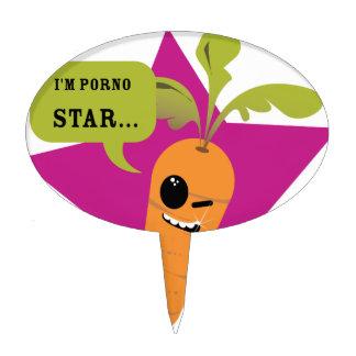 ¡soy una estrella de la pornografía © Les Hameço Decoración De Tarta