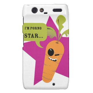 ¡soy una estrella de la pornografía!! © Les Hameço Motorola Droid RAZR Funda