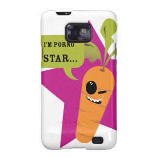 ¡soy una estrella de la pornografía © Les Hameço Samsung Galaxy S2 Carcasa
