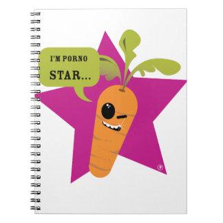 ¡soy una estrella de la pornografía!! © Les Hameço Libro De Apuntes