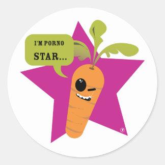 ¡soy una estrella de la pornografía!! © Les Etiqueta Redonda