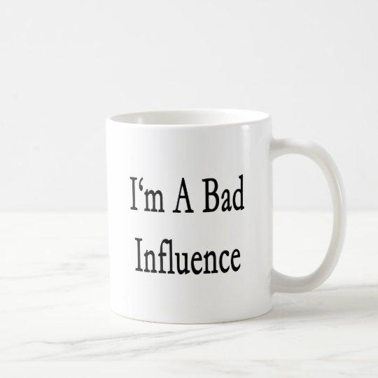 Soy una mala influencia taza de café