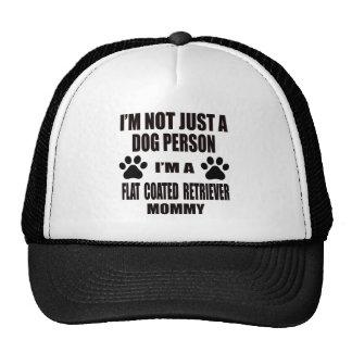 Soy una mamá Plano-Revestida del perro perdiguero Gorra