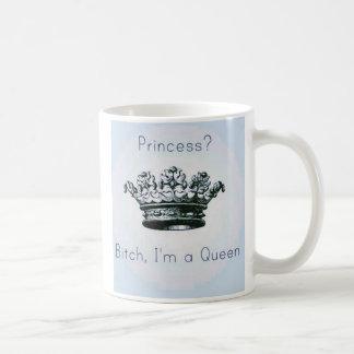 Soy una taza de la reina