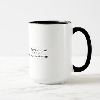 Soy una taza del unicornio del espacio