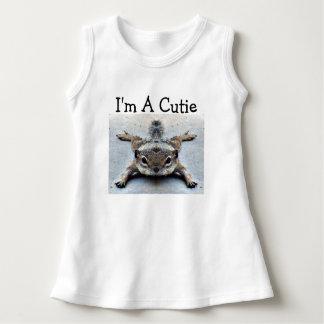 """""""Soy vestido del bebé de un Cutie"""""""