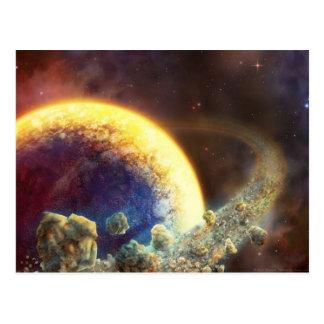 Spacerock VIII: Casi tocando - postal