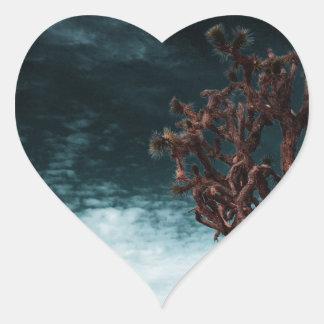 Special de la yuca pegatina en forma de corazón