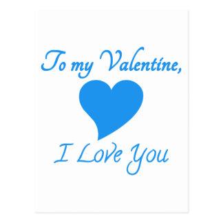 Special del día de San Valentín Postal