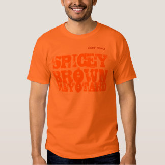 SPICEY BROWN CAMISETA