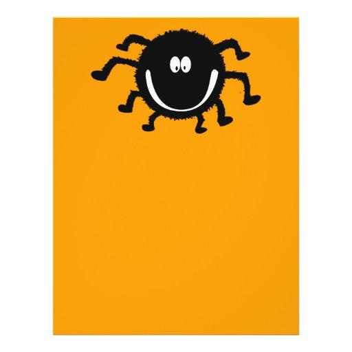 spider001_92007 PEQUEÑA ARAÑA ANARANJADA NEGRA FEL Flyer A Todo Color