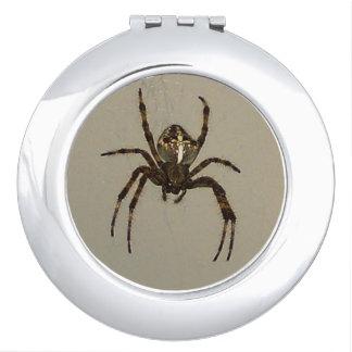 spider espejo compacto