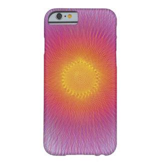 Spinart del starburst de la diversión funda para iPhone 6 barely there