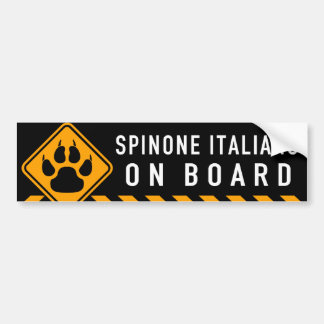 Spinone Italiano a bordo Pegatina Para Coche