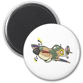 spitfire imán redondo 5 cm