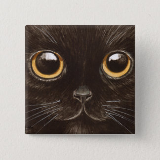 Spookie el gato chapa cuadrada
