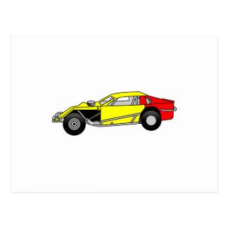 Sportscar modificado postal