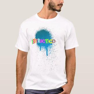 ¡spraypaint, D, 3, S, T, R, UC, T! C, O Camiseta