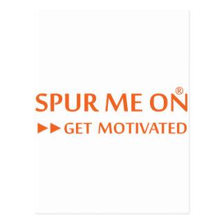 Spurmeon consigue diseño de motivación único motiv tarjeta postal