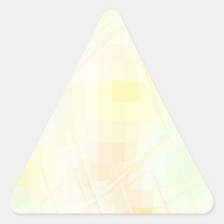 SQ torcida reconstruida Pegatina Triangular