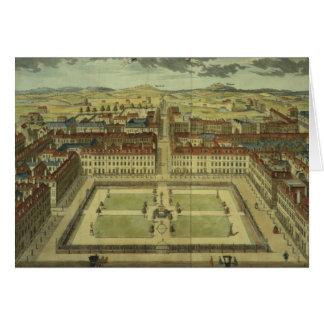 Square de Soho o de rey, para la 'encuesta sobre e Tarjeta De Felicitación