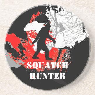 Squatchin ido, Bigfoot negro Posavasos Personalizados