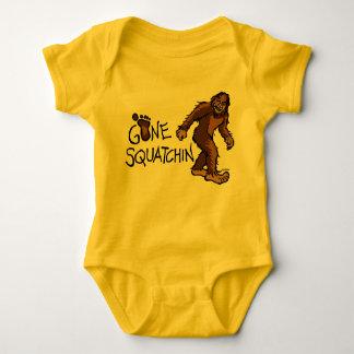 Squatchin ido body para bebé