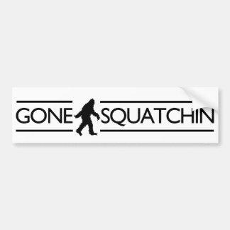 Squatchin ido pegatina para coche
