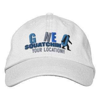 SQUATCHIN IDOS lo personalizan casquillo de la Gorra De Beisbol