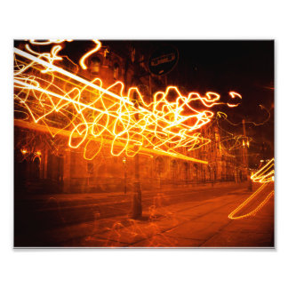 Squiggles ligeros impresiones fotográficas
