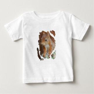 SQUIRREL ARDILLA ÉCUREUIL Photography Glineur Camiseta De Bebé