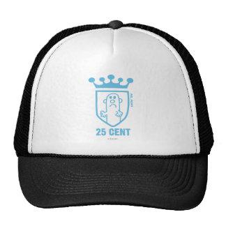 Sr. azul Mean Crest y corona Gorro