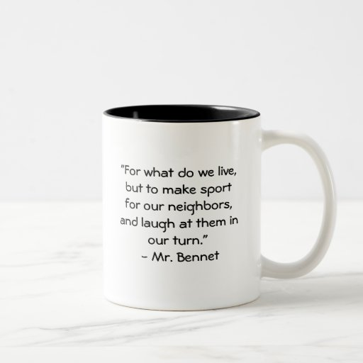 Sr. Bennet Quote Tazas