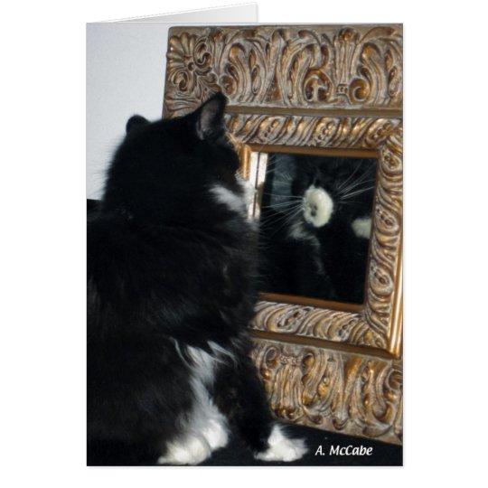 Sr. Bootee, a través del espejo Tarjeta De Felicitación