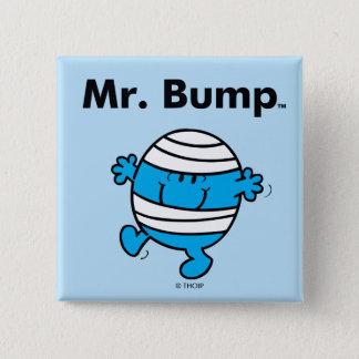 Sr. Bump de Sr. Men el | es un Clutz Chapa Cuadrada